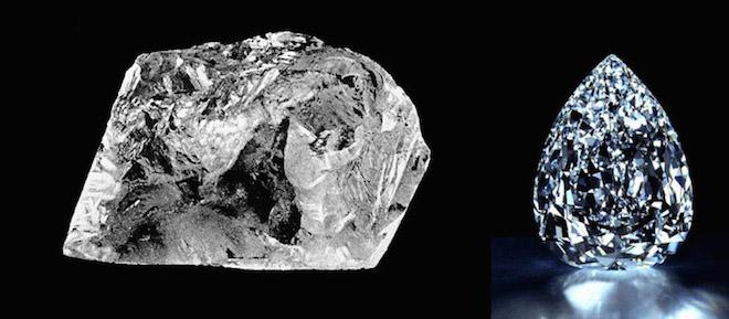 Интересные факты о больших алмазах