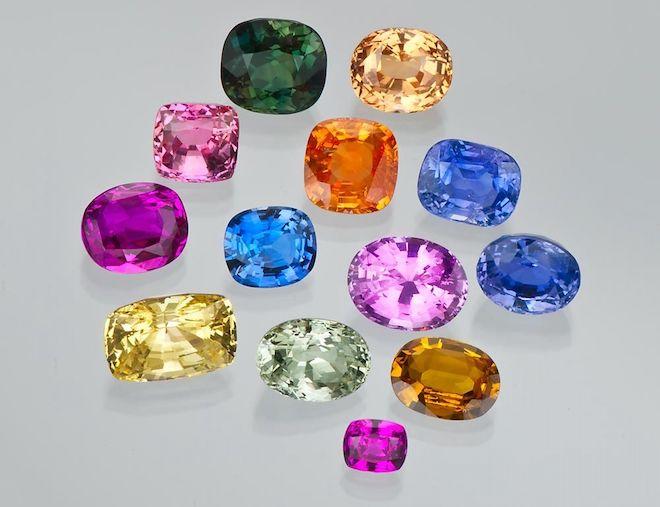 Разновидности и цвета камня