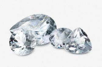 Натуральный белый камень считается большой редкостью