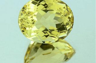 Гелиодор – камень с теплым, приятным окрасом, напоминающим солнечные лучи