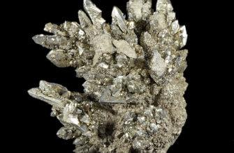 Марказит – камень с непримечательным внешним видом, но богатой историей.