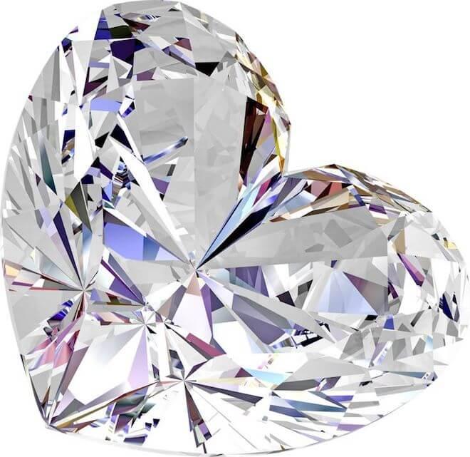 Как определить бриллиант в домашних условиях
