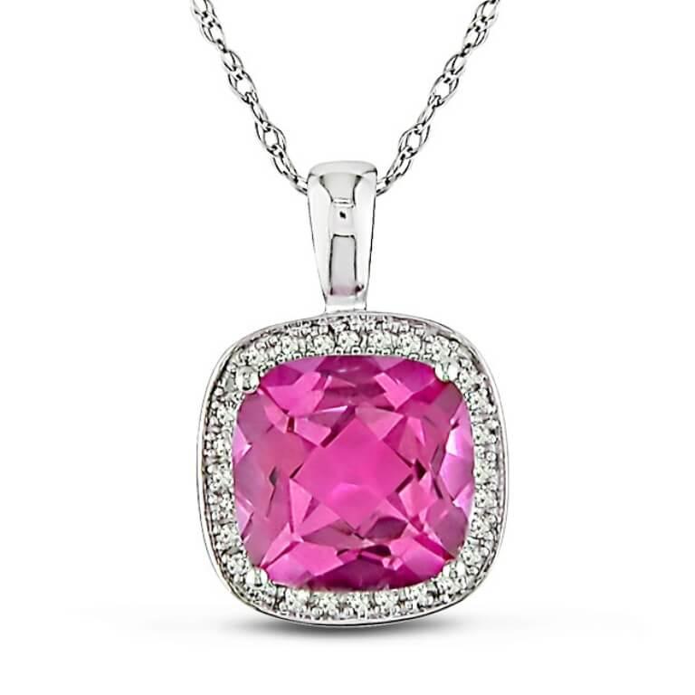 Розовые камни в ювелирных изделиях